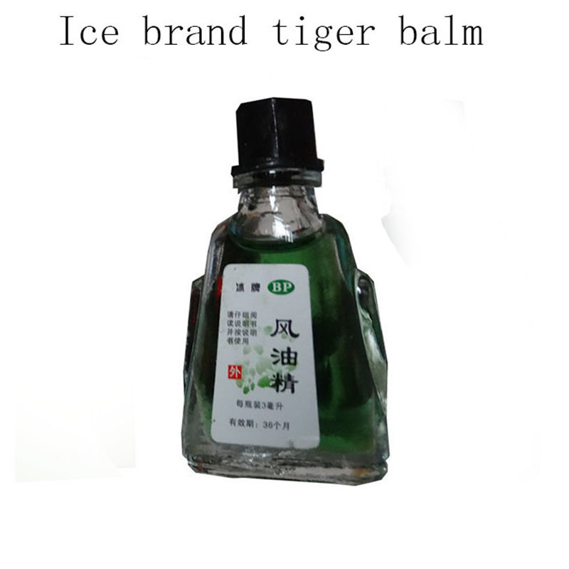 Fengyoujing mint pure essential oils Suitable for anti mosquito Motion sickness Migraine headache treatment massage oil