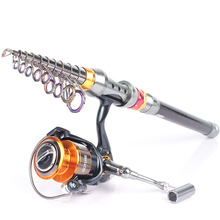 Goture Carbon Fiber Telescopic Fishing Rod 2 7m 3 0m 3 6m Spinning Sea Rod With