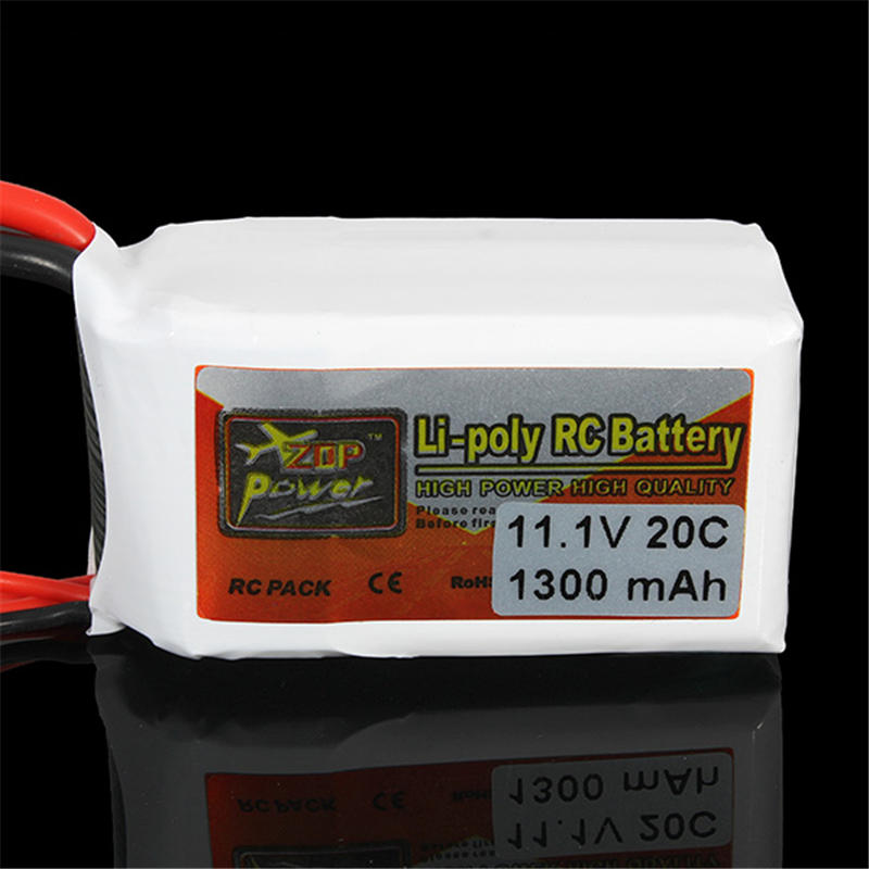 Гаджет  ZOP Power 11.1V 1300MAH 20C Lipo Battery T Plug RC Batteries None Игрушки и Хобби