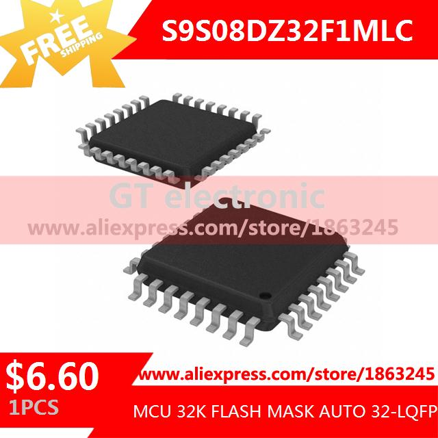 Free Shipping Electronic Components Original S9S08DZ32F1MLC MCU 32K FLASH MASK AUTO 32-LQFP 9S08 S9S08 1pcs(China (Mainland))