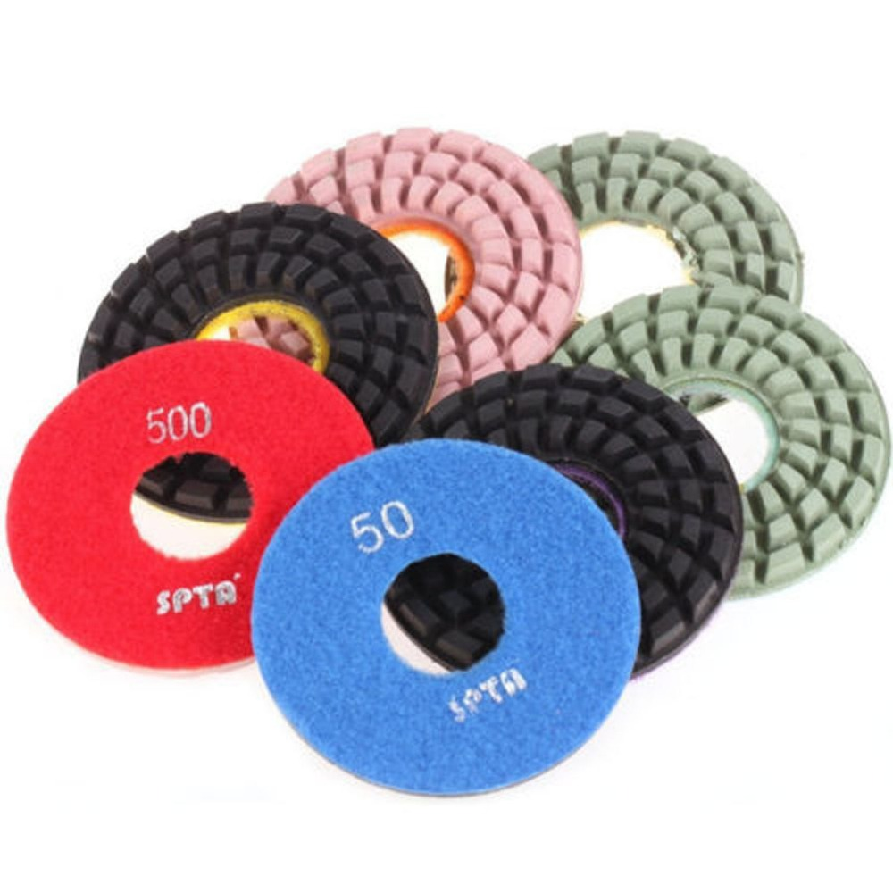 ZFE 4inch(100mm) Diamond Floor Polishing Pads Polisher Pads For Wet Polisher(China (Mainland))