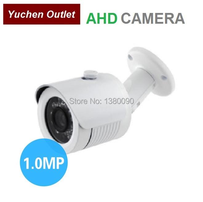 Yuchen hotselling outdoor waterproof security camera 1.0mega pixel 720P AHD cctv camera 24pcs IR led 20M IR YC-DE100AHD(China (Mainland))