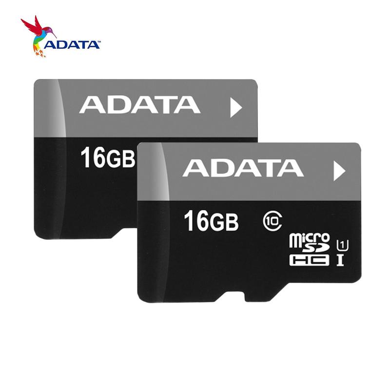 Original ADATA C10 Micro SD Card 16GB 32GB 64GB Micro SDHC SDXC UHS I Class 10