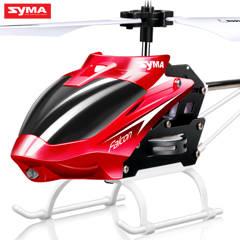 Syma 2 Channel Indoor Small Size RC Helicopter with Gyro , Resistant Drone Class Kid Toys for Beginner Christmas Gift for Child(China (Mainland))
