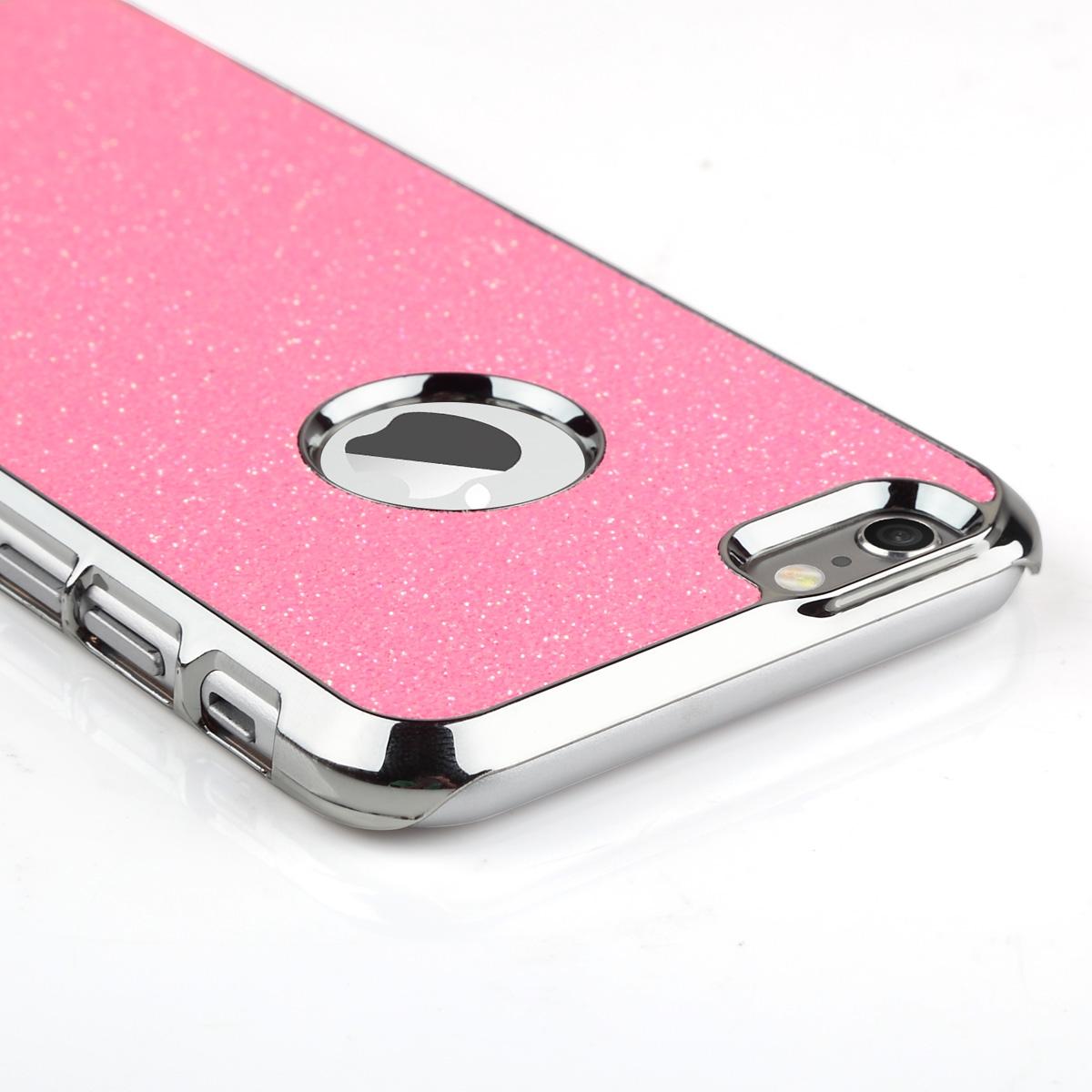 ULAK Luxury Bling Glitter Crystal Rhinestone Chrome Plastic Hard Case Cover for Apple iPhone 6/iPhone 6S 4.7 inch(China (Mainland))