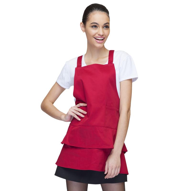 Korean female woman fashion coffee shop food shop juice shop hotel restaurant cooking chef waiter working wear apron(China (Mainland))