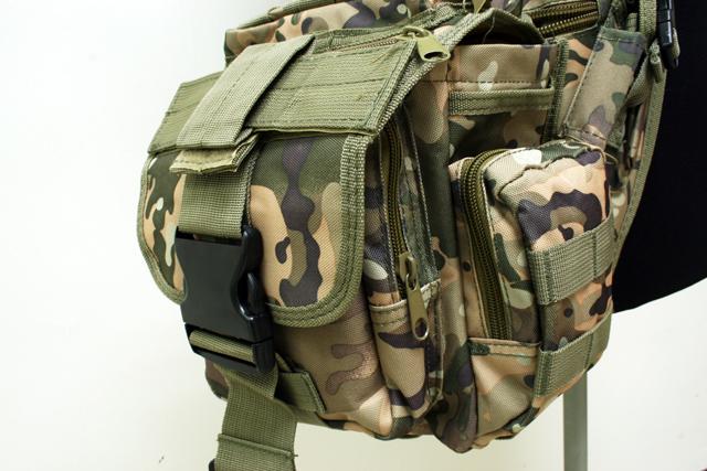 MOLLE sports bag Shoulder Bag Multicam SG-01-SC(China (Mainland))