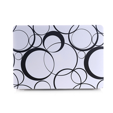 Fashion Ultra-thin Water stickers black and white texture Surface Hard Case For Macbook Air 13.3Inch A1369 A1466 laptop bag case(China (Mainland))