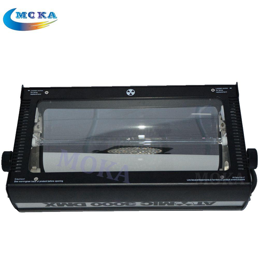 Martin Atomic Power Xenon DMX 3000w strobe light DMX Stage Flash Lighting Equipment 220v 3000W DMX Strobe Flash Light(China (Mainland))