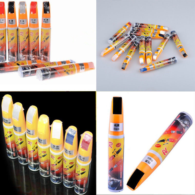 1 x Pro Car Paint Repair Black Pen Clear Scratch Painting Defect Remover Pen Simoniz Clear Coat Applicator High Quality(China (Mainland))