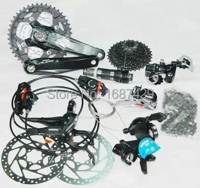 Велосипедная рама ALIVIO 4000 Groupset 3 * 9s 27S MTB Groupset M4000 шифтер shimano alivio m4000 3 x 9 скоростей