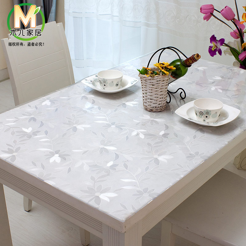 nappe plastique transparente pour table carree. Black Bedroom Furniture Sets. Home Design Ideas
