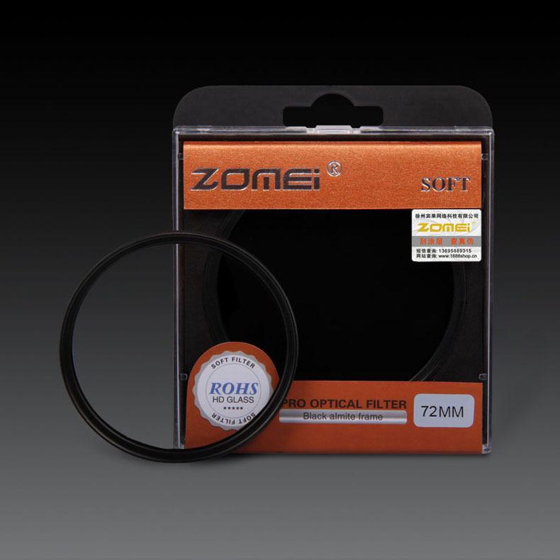 Premium Original ZOMEI 72mm Soft Filter Special Effect Diffuser Lens Filter Soft Focus Dreamy Hazy Portrait for Nikon Canon Sony(China (Mainland))