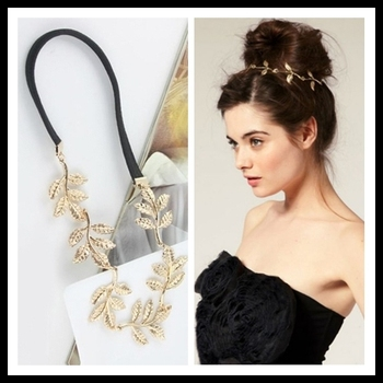 2014 New Arrival Min.order $10 Leaf Hair Clips Band Headbands Hairpin Delicate Jewelry Sets Free Shipping Mixed Order Spx2180