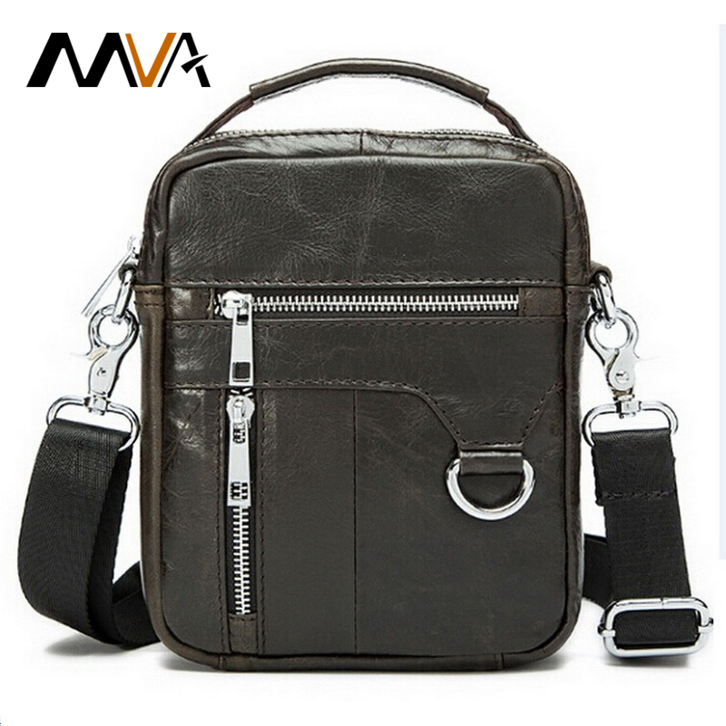 Genuine Leather Men Bags Small Shoulder Bag Design Men Messenger Crossbody Bags Men's Travel Bag Leather Handbags Man Handbags(China (Mainland))