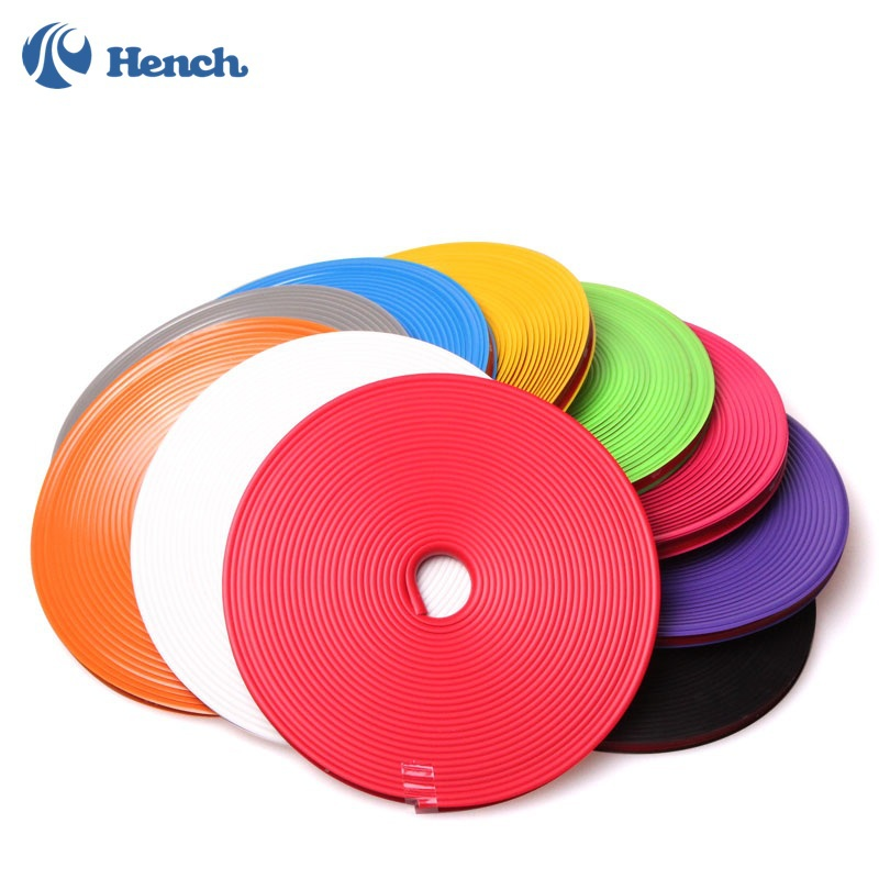 New car styling 8 meters Car Wheel Hub Tire Sticker Motorcycle Car Decorative Styling Strip Wheel/Rim/Tire Protection Care Cover(China (Mainland))