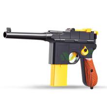 Выпустив Два вида Пуля Игрушка Маузер Военный Пистолет Забавный Игрушечный Пистолет(China (Mainland))