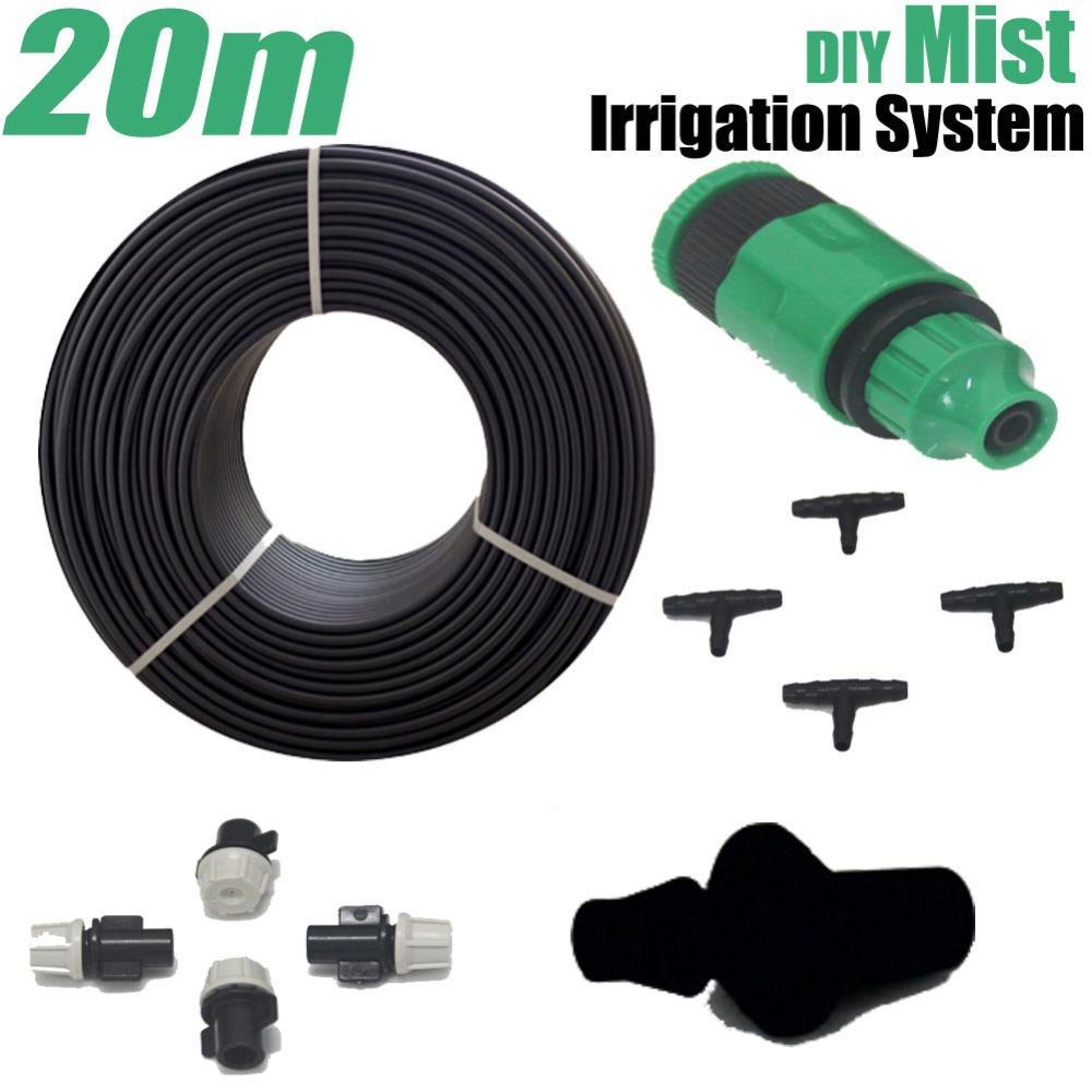 Garden Misting Kits : Micro garden mist irrigation system m watering kits