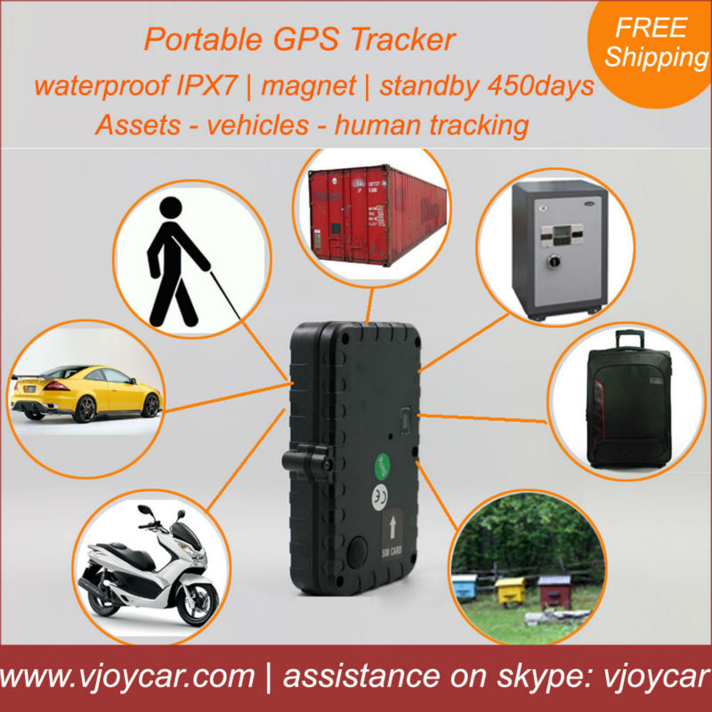 China manufacture offer the best waterproof magnet no need hard install gps tracker car with 450 days under sleeping mode!(China (Mainland))