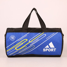 Buy Fitness club leisure sports bag large capacity cylinder package travel agency customized packages for $20.80 in AliExpress store