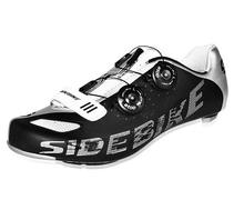 Sidebike Professional Bicycle Cycling Carbon Fiber Shoes Road Bike Self-Locking Shoes Lightweight Athletic Shoes(China (Mainland))