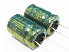 {Free shipping} Electrolytic capacitor 1000uf 6.3V 6.3V 1000uf volume 8*12(China (Mainland))