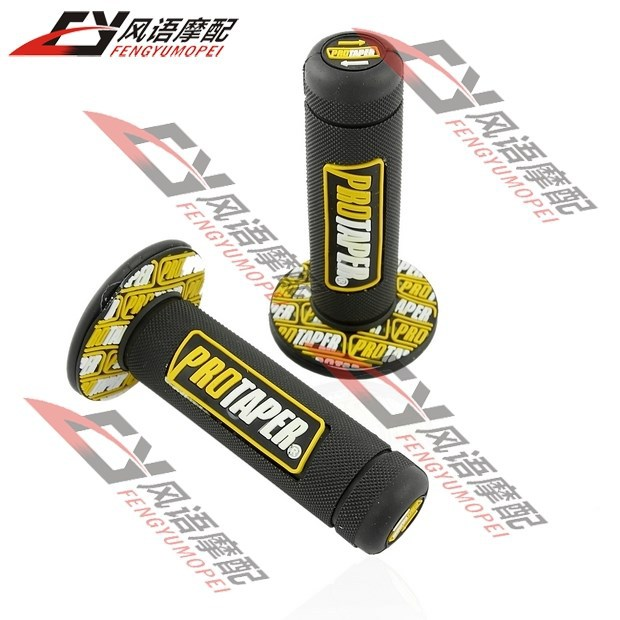Free Shipping Motocross UNIVERSAL Dirt Pit Bike HANDLEBAR rubber gel HAND GRIPS For Monster Handle grips Blue Motorcycle Parts(China (Mainland))