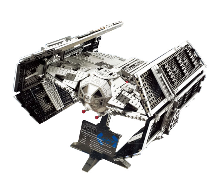 Lepin 05055 Star War Series The Rogue One USC Vader TIE Advanced Fighter Set 10175 Building Blocks Bricks Educational Toys
