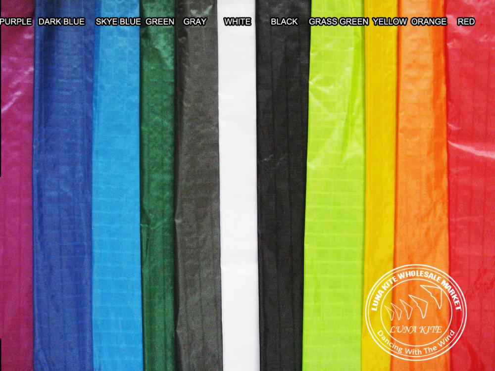 [LUNA KITE] Top Grade Kite fabric sail Icarex PC Ripstop Nylon materials for sport kite upgrade(China (Mainland))