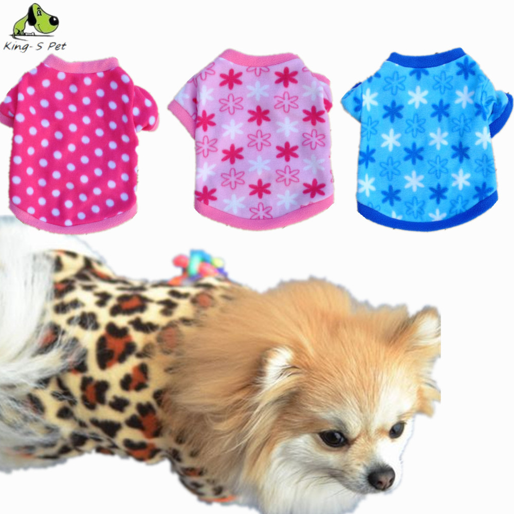 Fashion Fleece Cute Small Puppy Pet Dog Hoodies Grain Shaking Coat Sweater Clothing For Dogs Best Price Size XS-L Free Shipping(China (Mainland))