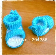 15%off! Crochet baby booties cheap shoes 5pairs/10pcs(China (Mainland))