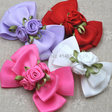Grosgrain Bow Applique Wedding Craft Flowers