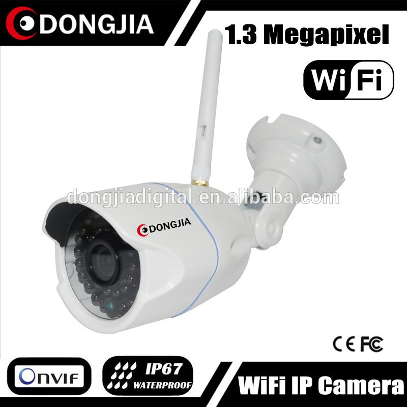 DONGJIA DJ-IPC-HD6102CW IP Camera Wireless Wifi HD 960P Outdoor Waterproof Surveillance Security Mini Network cam IR Cut Bullet(China (Mainland))