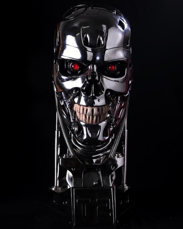 on Terminator Sk...T 800 Terminator Skull