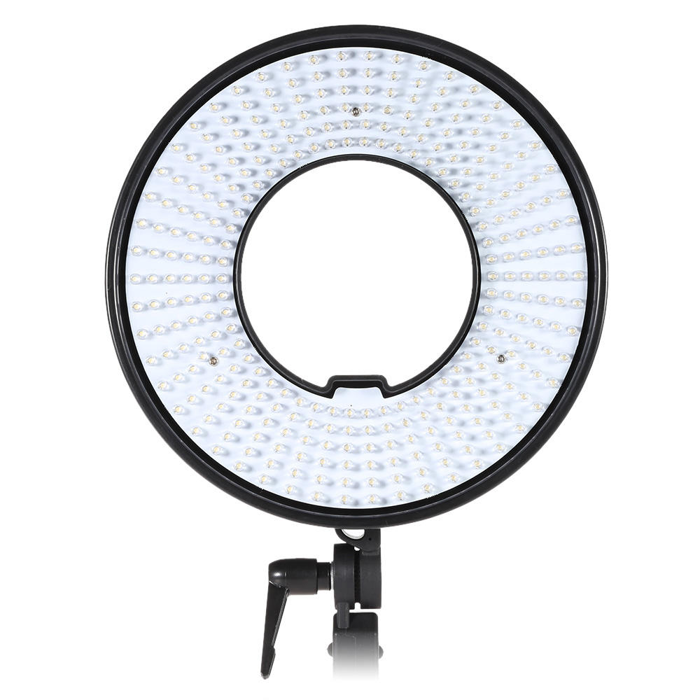 DVR-300D 300 LEDs CRI 95+ Video Photography Studio Ring Light Lamp Panel 5500K Color Temperature for DSLR Camera Camcorder(China (Mainland))