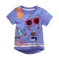 18 Months 6T Baby Boys Girls T Shirt Summer Cotton Cartoon T Shirt Children s Clothing