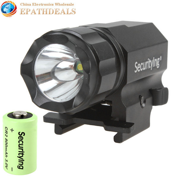 [SALE] Securitylng P05 1600 Lumens CREE-XP-G R5 LED Tactical Gun Flashlight Torch 2 Modes LED Flash Light Lanterna with Mount(China (Mainland))
