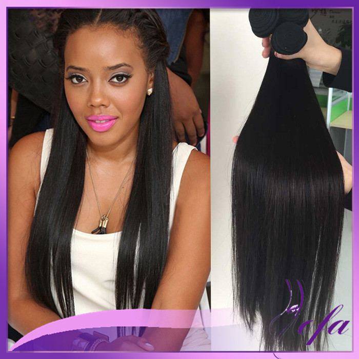 Crochet Real Hair : Straight+Braids+With+Weave crochet braid cheap real human hair weaves ...