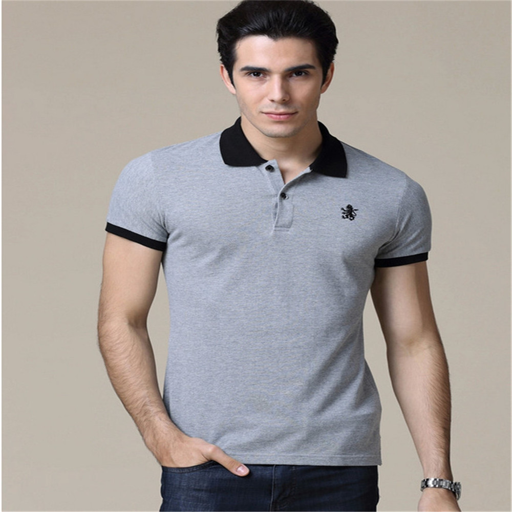 Hot ! 2015 New Fashion brand Short Sleeve Men Polo Ralph Men Cotton Casual Breathable Fitness Boss Men Polo Shirts Size:S~3XL(China (Mainland))