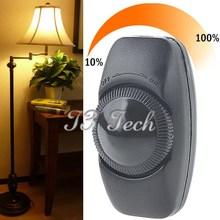 Ac 110 V / 220 V usage domestique variateur de lumière luminosité réglable contrôleur bouton interrupteur livraison gratuite(China (Mainland))