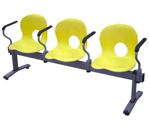 contemporary 3-beam seating office link chair with armrest lecture hall chair sturdy construction(China (Mainland))