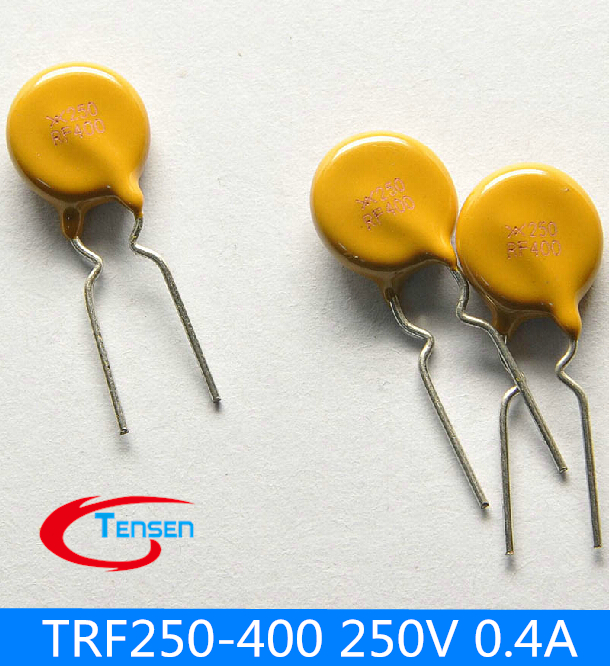 500pcs/LOT PPTC Resettable Fuses 250V 0.4A 400MA TRF250-400 TRF250 PPTC (Polymeric PPTC) PolySwitch<br><br>Aliexpress