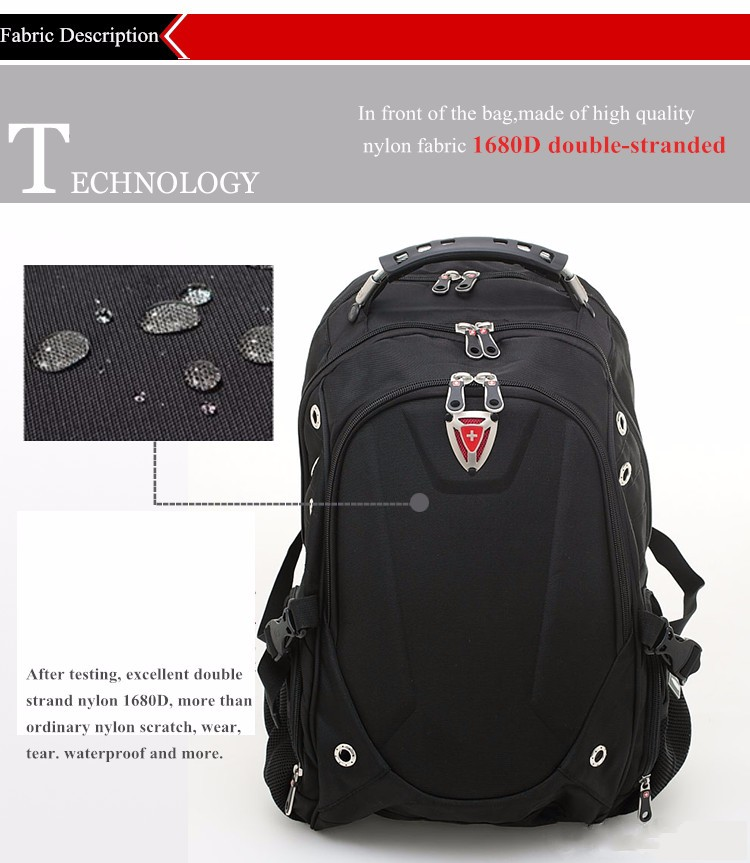 Top Quality 13-17inch swiss backpack woman man travel ...