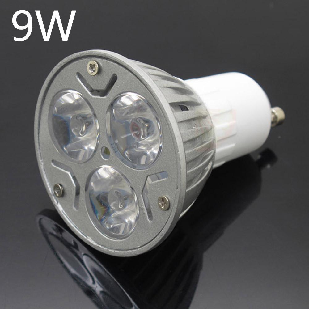super bright gu10 9w 12w 15w led spotlight dimmable spot light ac 85 265v bulbs ceiling lamp. Black Bedroom Furniture Sets. Home Design Ideas
