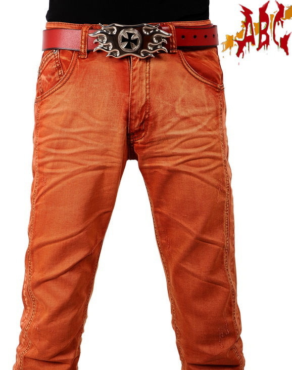 Hot sale! High quality washed cotton bleached jeans 2014 New Arrival Newly Style famous brand Cotton Men's Jeans pants(China (Mainland))