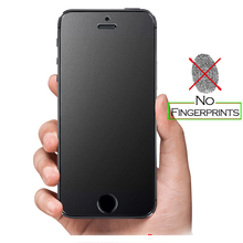 Buy Fingerprint Ultra thin Tempered Glass Screen Protector iPhone 7 5 SE 5s 6 6S Plus Frosted matt Glass Protective Film case for $1.42 in AliExpress store