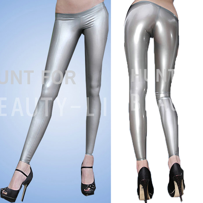 Latex Trousers For Women Fetish Capris Legging Pants Show your Sexy Plus Size Customization 100% Natural Handmade Free ShippingОдежда и ак�е��уары<br><br><br>Aliexpress