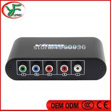 PS2 XBOX 5 RCA Component to HDMI Converter RGB YPbPr to HDMI Converter AV Video Audio v1.3 HDCP YPbPr/RGB + R/L audio to HDMI(China (Mainland))