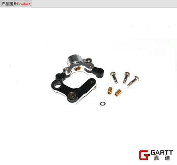 Freeshipping (2 PIECES/LOT) GARTT 450 Upgrade Part Metal Tail Control Set 100% Fits Align Trex 450