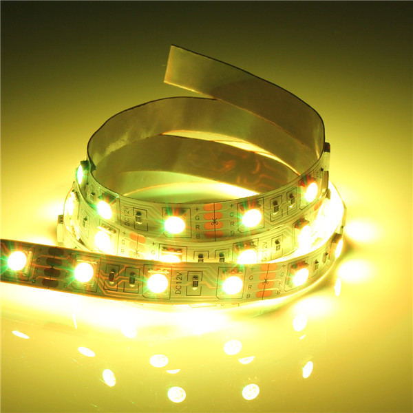 Big Promotion 1M 60 LED 5050 SMD Non-Waterproof/Waterproof Flexible Strip Tape Light Lamp 12V Warm White/Red/Green/Blue/RGB(China (Mainland))